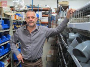 Photographie de Pascal Tourneux, gérant de l'entreprise Beaugendre