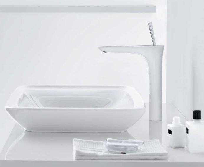 Photographie d'un lavabo Hansgrohe - crédit photos : Hansgrohe