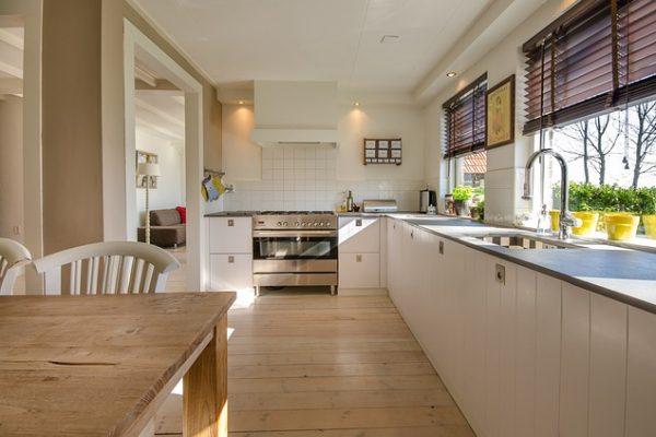 Photographie d'une cuisine aménagée