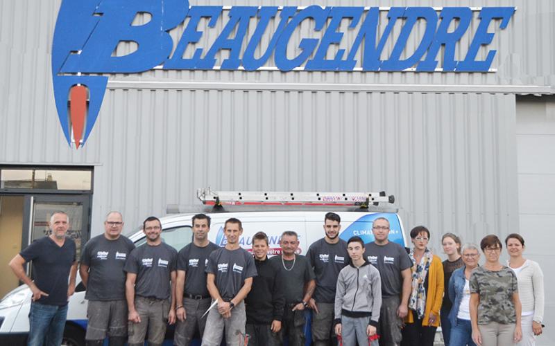 Photographie de l'équipe Beaugendre